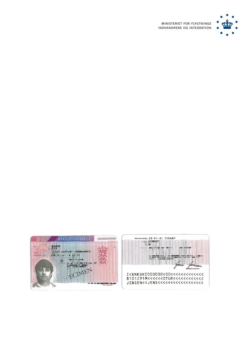 opholdskort danmark