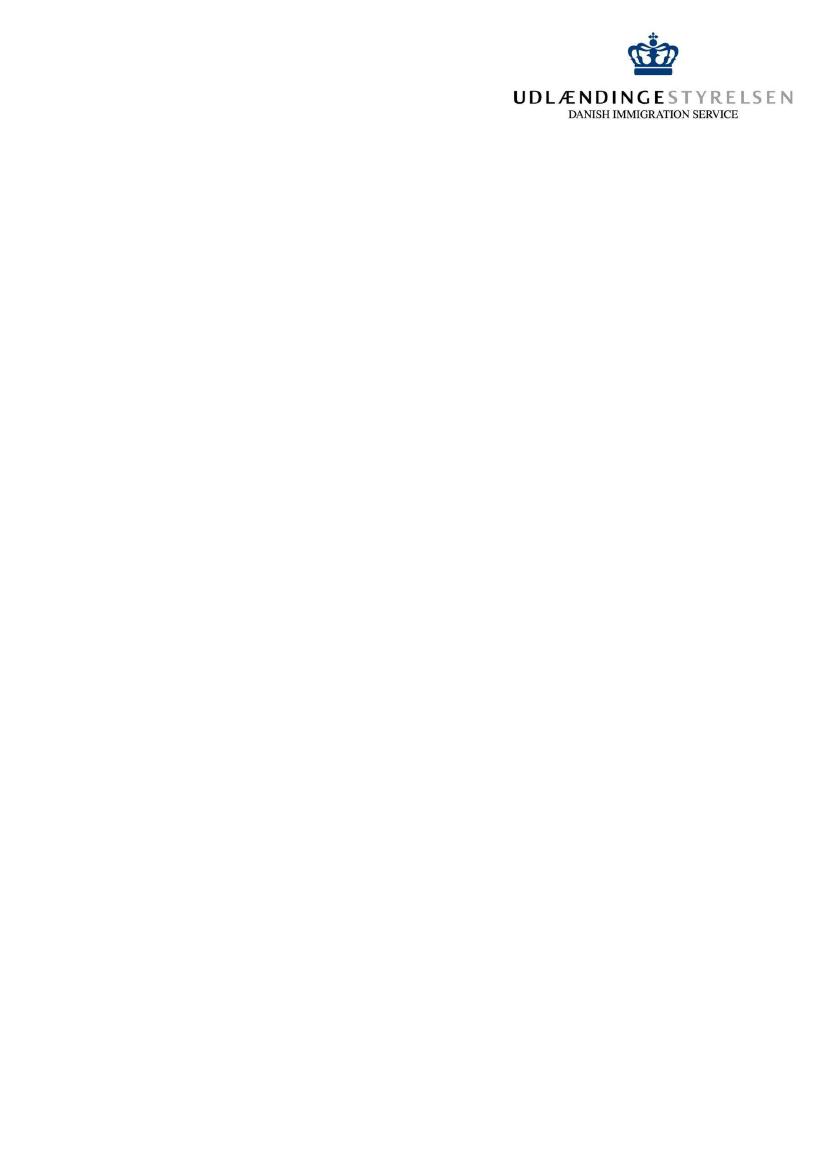 UUI, Alm del - 2014-15 (1  samling) - Bilag 32: Udlændingestyrelsens